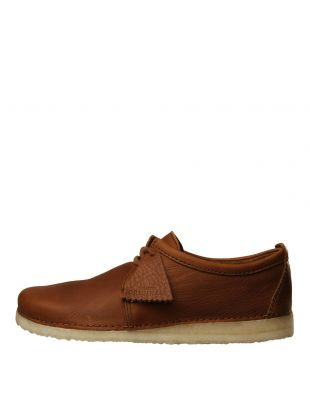 Clarks Originals Ashton Shoes 26131151 Cola Leather