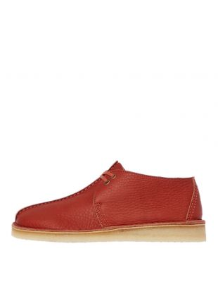 Clarks Originals Desert Trek Shoes | 26145271 Burnt Orange