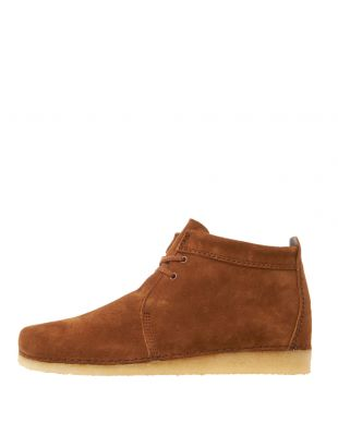 Clarks Originals Ashton Boots | 26144207 Cola Suede