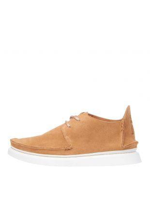 Clarks Originals Seven Shoes 26143232 Tan Suede