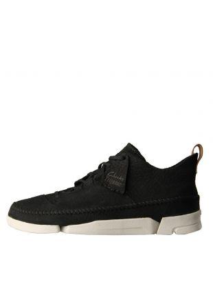 Clarks Originals Trigenic Flex Shoes 26107366 Black