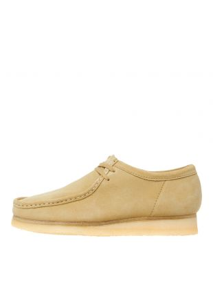 Clarks Originals Wallabee Shoes 26133278 Maple Suede