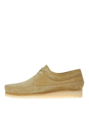 Clarks Originals Weaver Shoes 26133285 Maple Suede