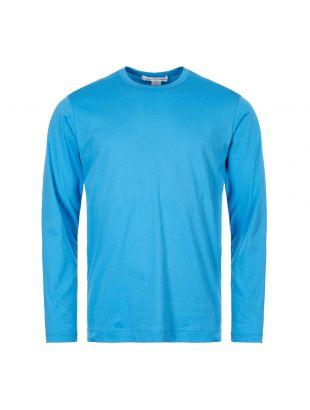Comme des Garcons SHIRT Long Sleeve T-Shirt W27116 1 Blue