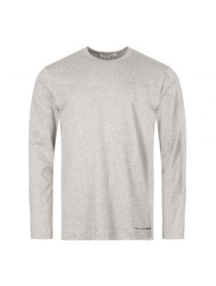 Comme des Garcons SHIRT Long Sleeve T-Shirt | W27110 2 Grey