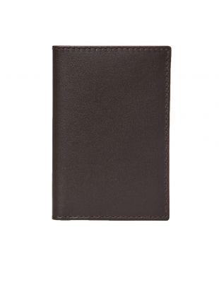 Comme des Garcons Wallet Classic | SA6400 801 Brown