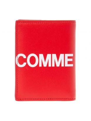 Comme des Garcons Wallet Logo |  SA0641HL RED