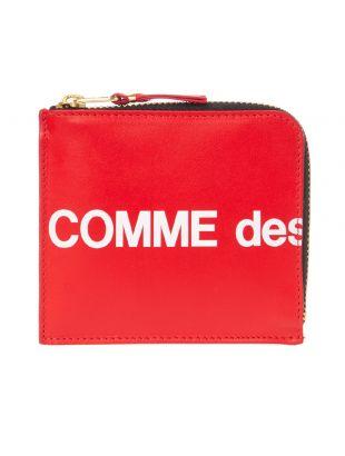 Comme des Garcons Wallet | SA3100HL RED
