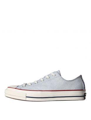 Converse Chuck Taylor 1970s Ox Premium Leather White Navy Egret 151155C