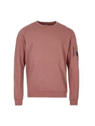CP Company Sweatshirt MSS087A 002246G 583 Dusty Pink