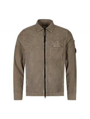 CP Company Overshirt | MOS311A 005612G 661 Dusty Olive