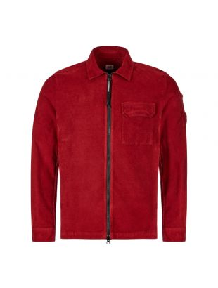 CP Company Overshirt | MOS311A 005612G 576 Scooter Red
