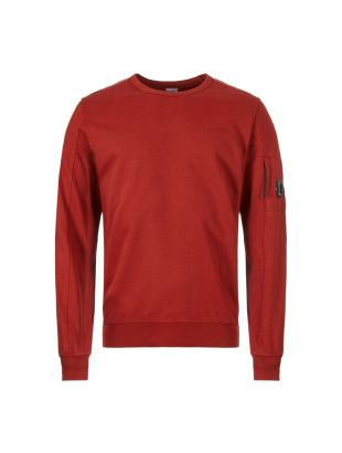 CP Company Sweatshirt | MSS087A 00246G 576 Scooter Red