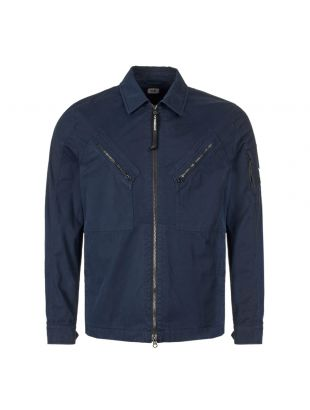 CP Company Overshirt | MOS149A 005425G 888 Total Eclipse