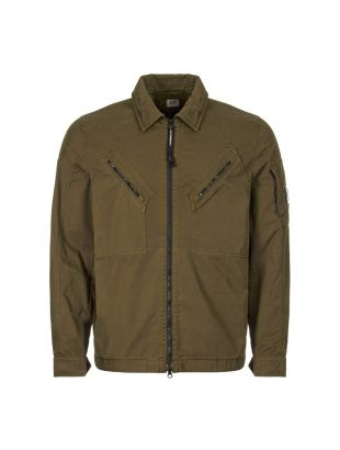 CP Company Overshirt | MOS149A 005425G 661 Dusty Olive