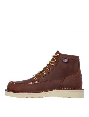 danner bull run moc toe boots 15573 brown