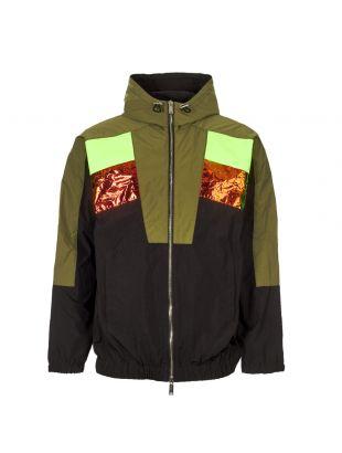 dsquared2 jacket S71AN0061 S29747 900 black / olive