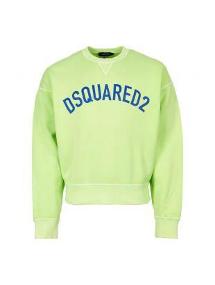 DSquared2 Sweatshirt S71GU0295 S25030 672 In Green