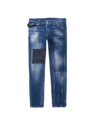 DSquared Jeans Cool Guy S47LB0487 S30342 470 Washed Indigo