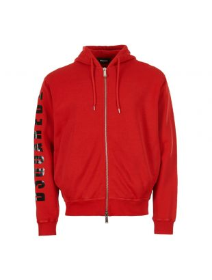 DSquared Hooded Sweat S74HG0062 S25030 307 Red