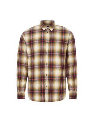 Check Shirt - Mustard / Red