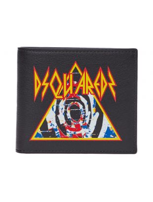 DSquared2 Wallet  WAM000601 502382 2124 Black Graphic Aphrodite1994