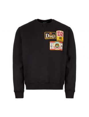 DSquared  Sweatshirt S74GU0330|S25030|900  In Black