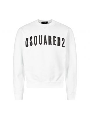 DSquared Sweatshirt S74GU0357 S25030 100 White / Black