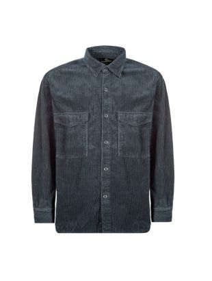 Corduroy Shirt - Blue