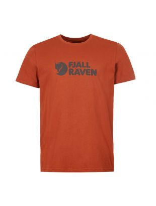 Fjallraven T-Shirt F81956 215 Autumn Leaf
