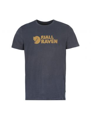 Fjallraven T-Shirt F81956 560 Navy
