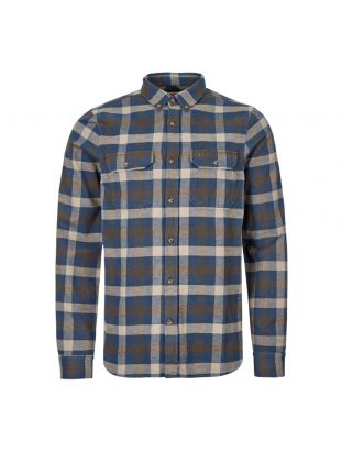 Fjallraven Shirt Skog 81353 646 Blue / Grey