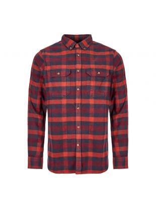 Shirt Skog - Navy / Red