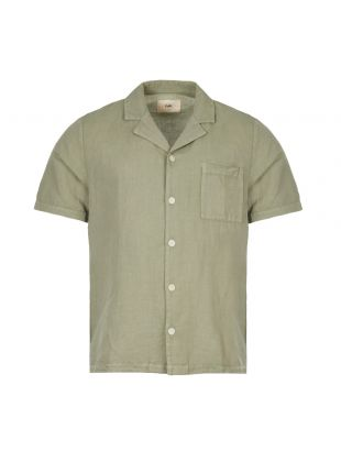 Folk Short Sleeve Shirt | FP5217S GRN Washed Green