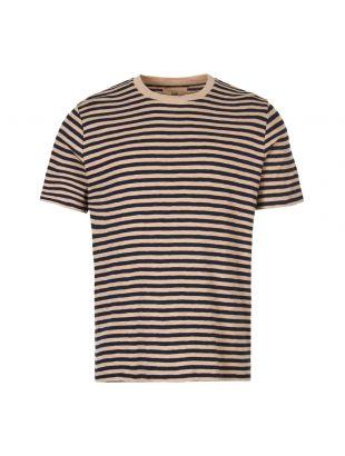 Folk T-Shirt | FP5221J NAVY Navy / Oatmeal