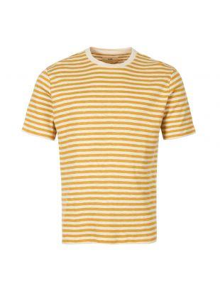 Folk T-Shirt | FP5221J STRAW Yellow / Ecru
