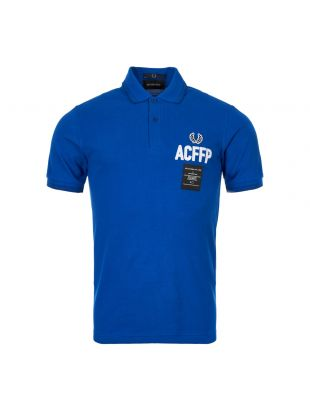 Fred Perry Art Comes First Polo Shirt SM5120 919 Regal Blue