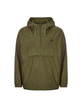 Jacket Ripstop Half-Zip - Dark Thorn Green