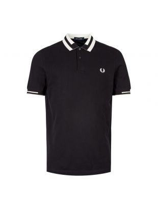 Fred Perry Polo Shirt Block Tipped M7503 102 Black