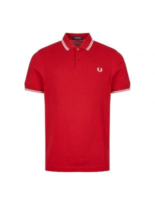 Polo Shirt Twin Tipped - Red