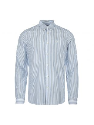 Fred Perry Stripe Shirt M5556 444 Sky