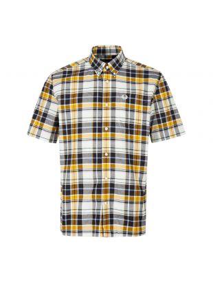 Fred Perry Short Sleeve Shirt M6532 C44 Peanut / Black