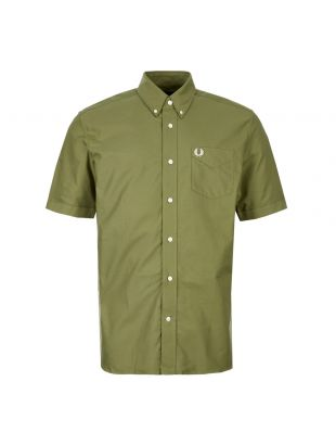 Fred Perry Short Sleeve Shirt M6601 H94 Cypress Green