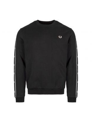Sweatshirt Taped – Black