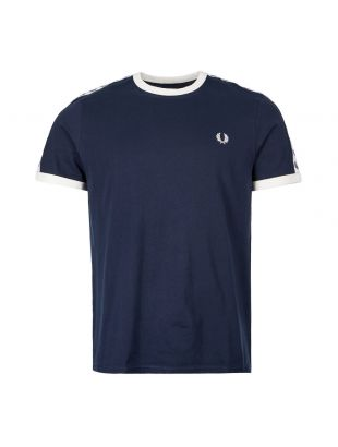 Fred Perry T-Shirt | M6347 885 Carbon Blue