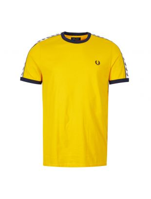 Fred Perry T-Shirt | M6347 I68 Sunglow / Yellow