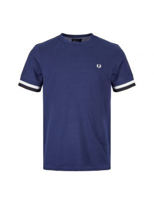 Fred Perry T-Shirt M6513 143 In French Navy