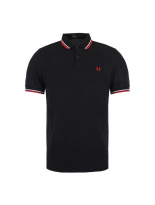 Fred Perry Polo Slim Fit Twin Tipped  M3600 471