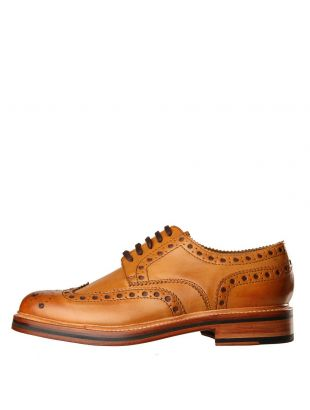 Grenson Archie Brogue Tan ARCHIE