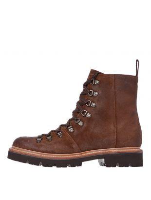 grenson brady boots 111834 tan